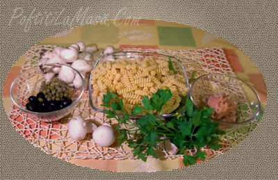 Paste-Fusilli-cu-Ciupercute-ingrediente